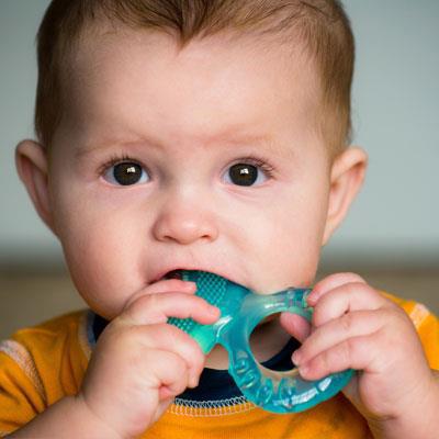 Child teething