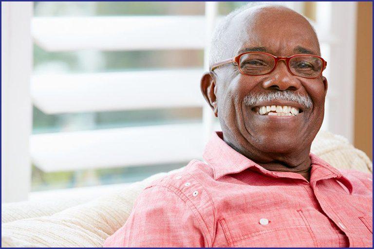 grandpa smiling